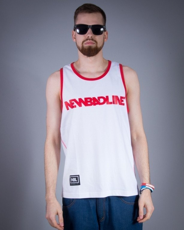 NEW BAD LINE TANK TOP CLASSIC WHITE