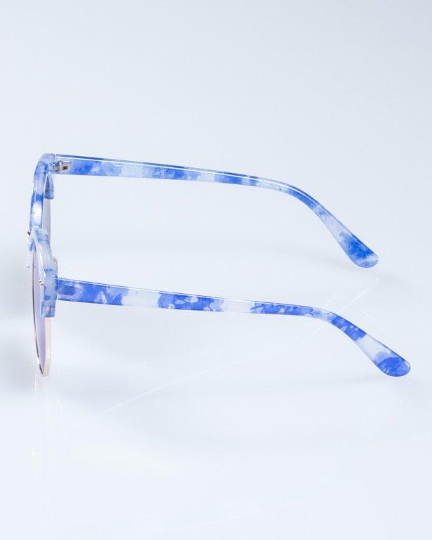 OKULARY LADY WILD SPOT BLUE BLUE MIRROR 945