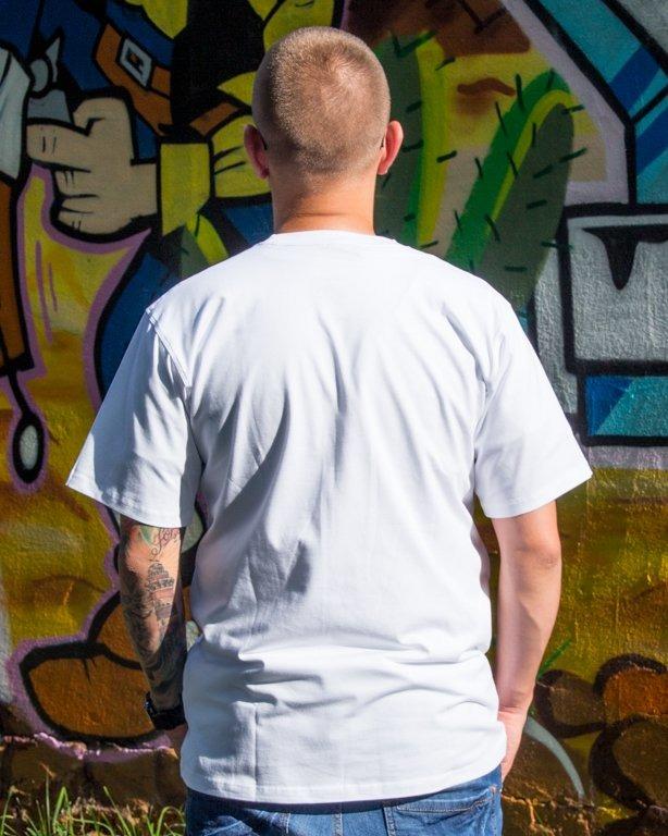 T-SHIRT BASKET WHITE