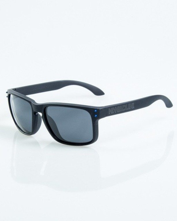 OKULARY FREESTYLE BLACK-BLUE DOTS RUBBER BLACK POLARIZED 1069