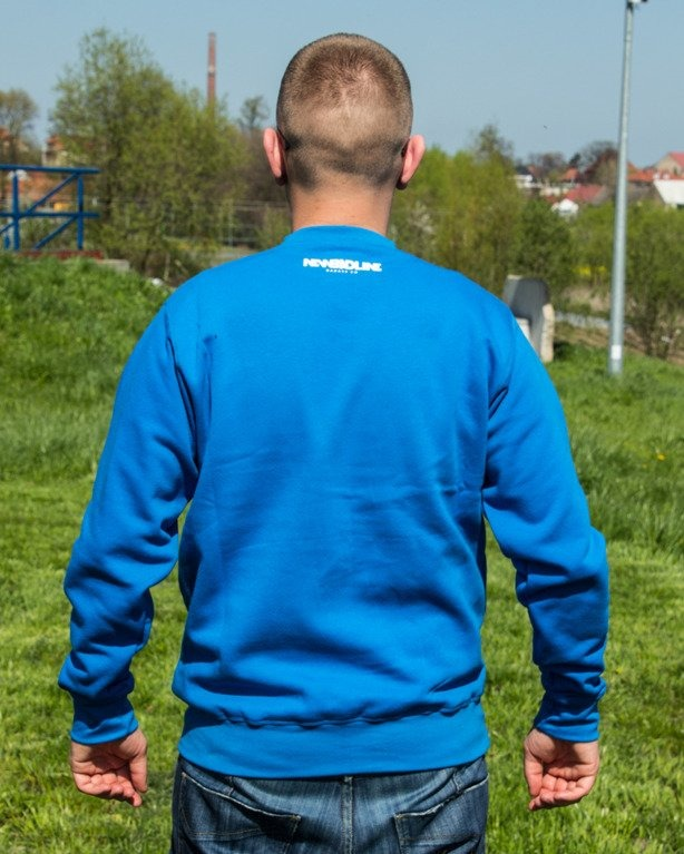 BLUZA CREWNECK CRIME BLUE