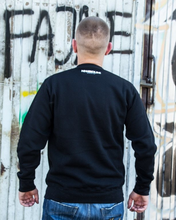 BLUZA CREWNECK ICON BLACK