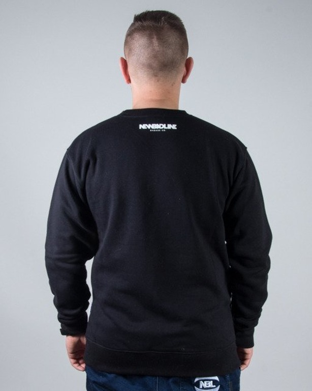 BLUZA CREWNECK NEW ICON BLACK