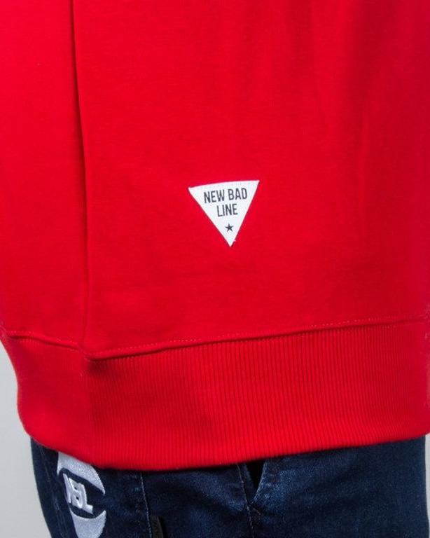 BLUZA CREWNECK SMALL CLASSIC RED