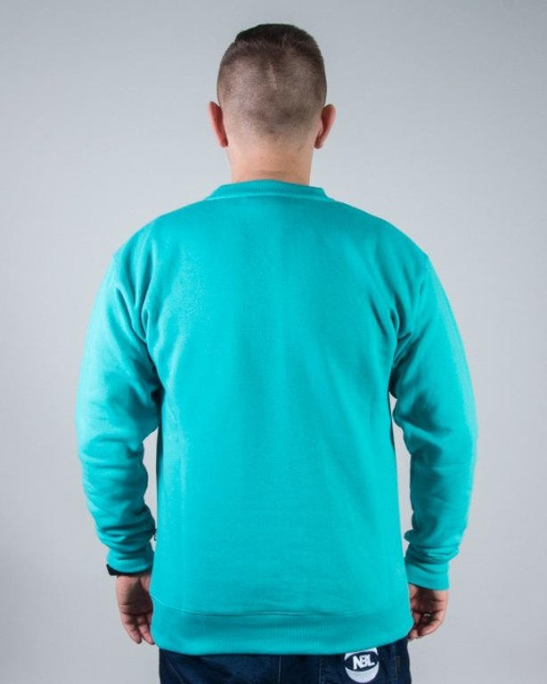 BLUZA CREWNECK SPRAY MINT
