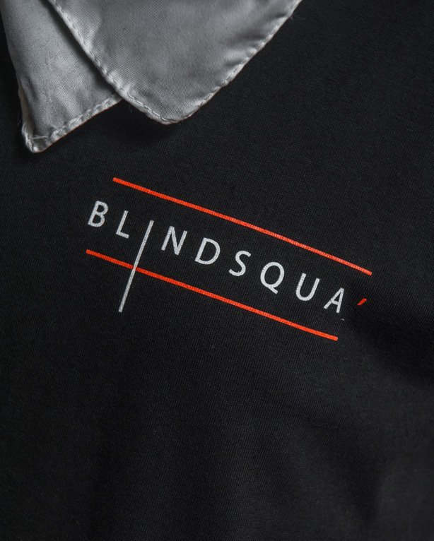 NBL X BLIND WEAR T-SHIRT BLIND SQUA BLACK