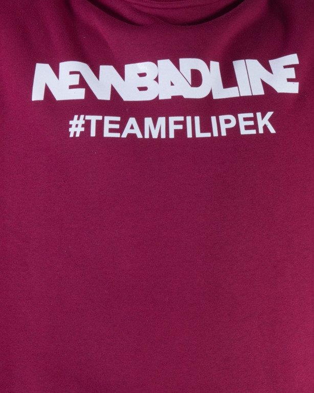 NEW BAD LINE BLUZA BEZ KAPTURA #TEAMFILIPEK BRICK