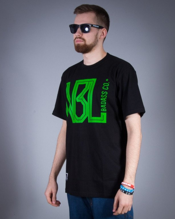 NEW BAD LINE KOSZULKA BC BLACK-GREEN