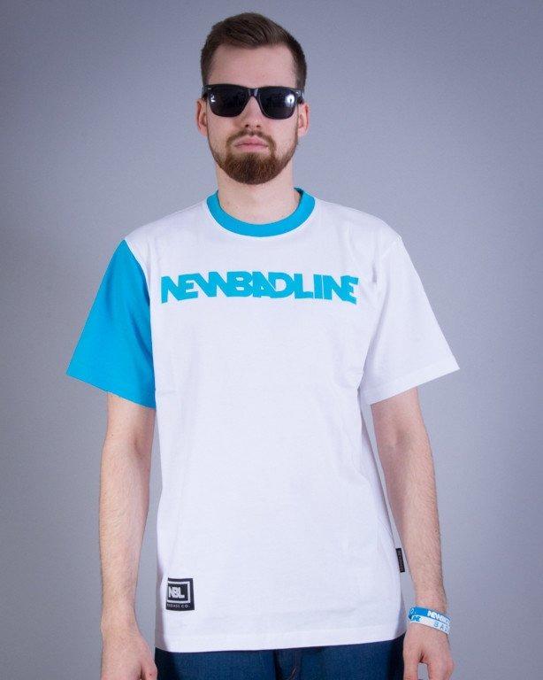 NEW BAD LINE KOSZULKA CLASSIC WHITE-BLUE