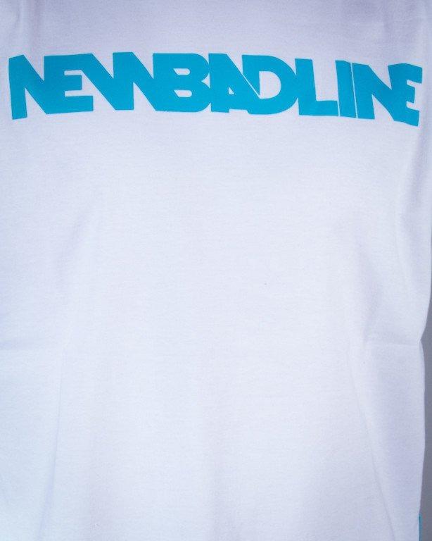 NEW BAD LINE KOSZULKA CLASSIC WHITE-BLUE-GREEN