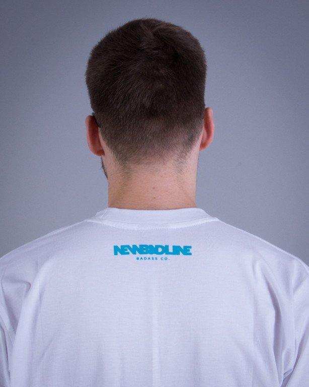 NEW BAD LINE KOSZULKA ICON WHITE-BLUE
