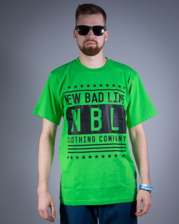 NEW BAD LINE KOSZULKA SWAG GREEN