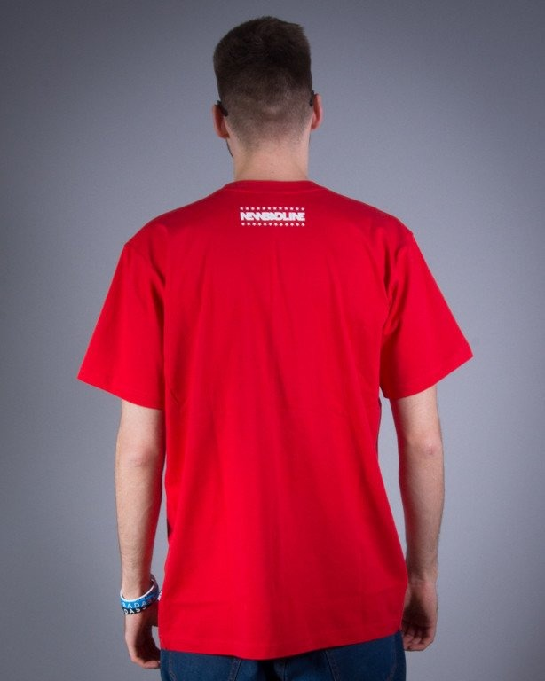 NEW BAD LINE KOSZULKA SWAG RED