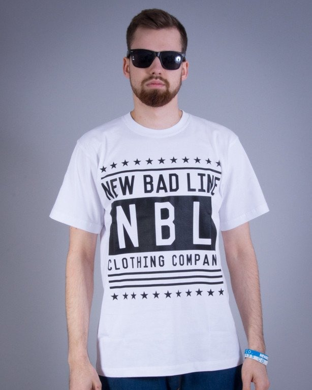 NEW BAD LINE KOSZULKA SWAG WHITE