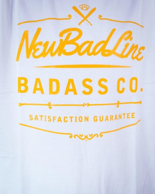 NEW BAD LINE KOSZULKA WHISKY WHITE