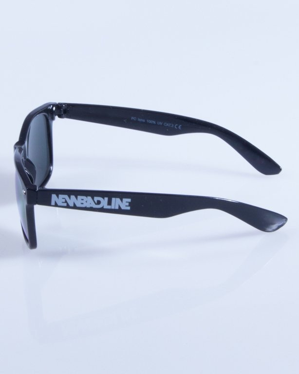 NEW BAD LINE OKULARY CLASSIC ALL GLASS RUBBER MIRROR 346