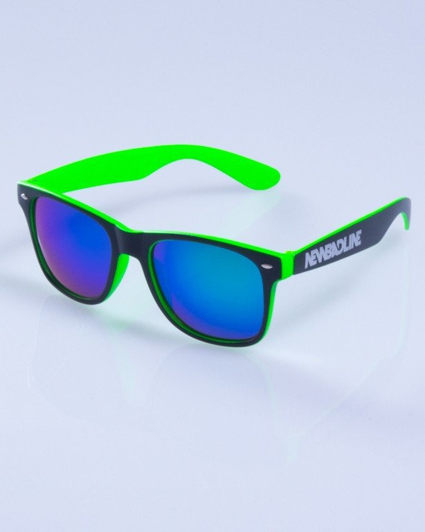 NEW BAD LINE OKULARY CLASSIC INSIDE MAT MIRROR 246