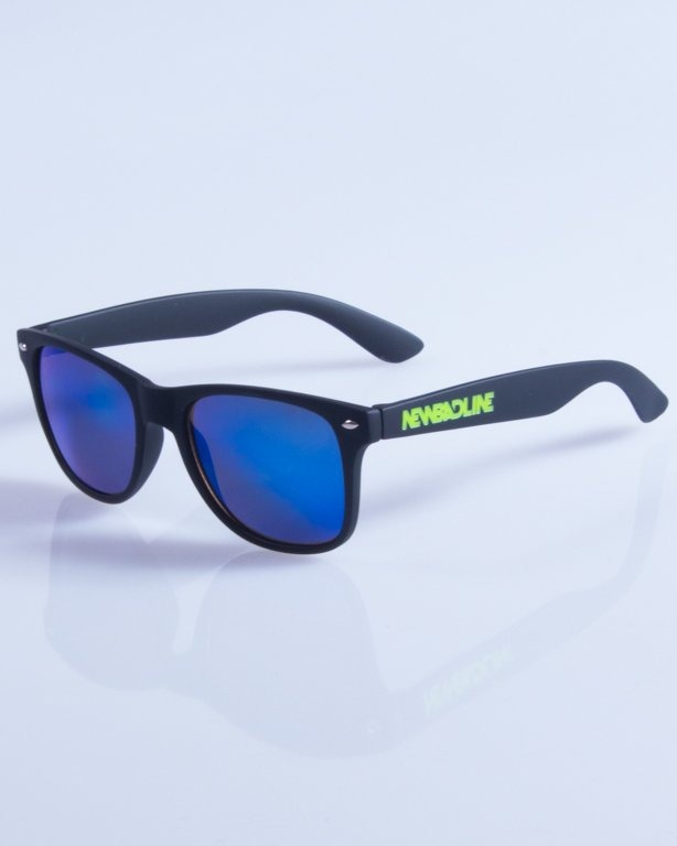 NEW BAD LINE OKULARY CLASSIC MIRROR RUBBER 316