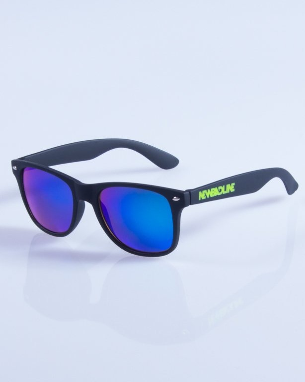 NEW BAD LINE OKULARY CLASSIC MIRROR RUBBER 319