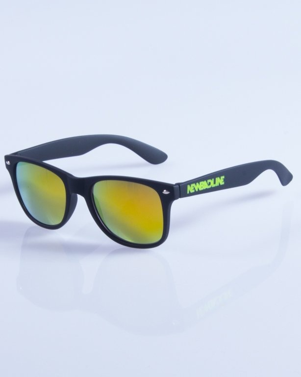 NEW BAD LINE OKULARY CLASSIC MIRROR RUBBER 321