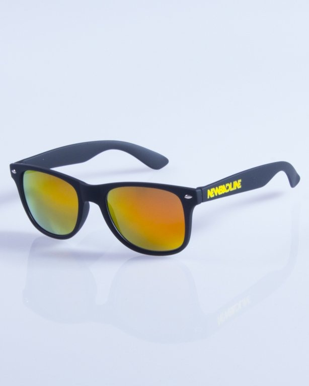 NEW BAD LINE OKULARY CLASSIC MIRROR RUBBER 356
