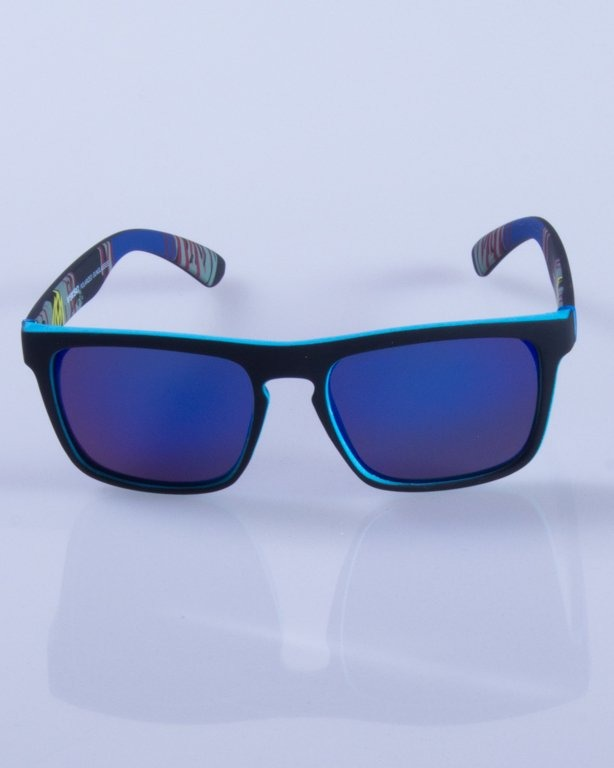 NEW BAD LINE OKULARY COMIX POLARIZED MIRROR RUBBER 428