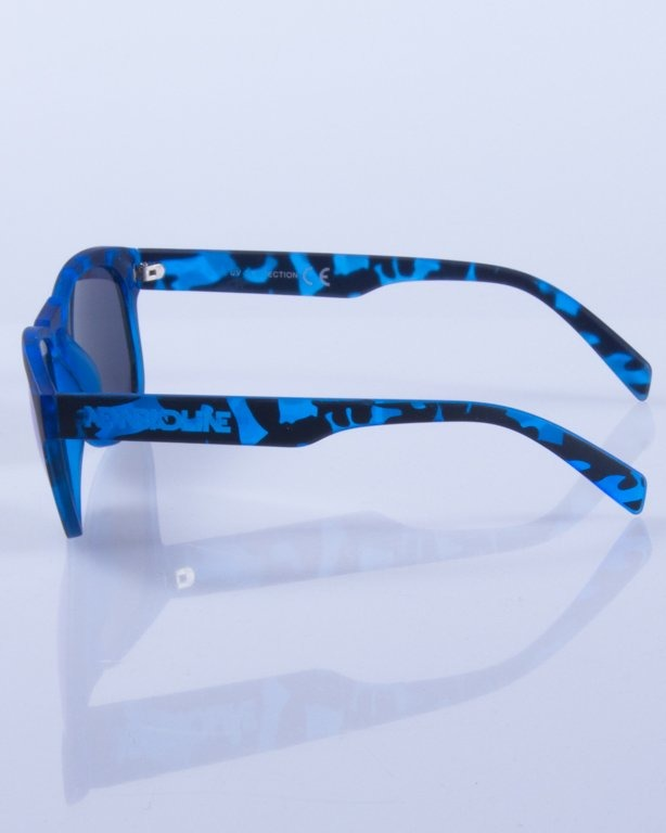 NEW BAD LINE OKULARY OVAL MIRROR RUBBER 368