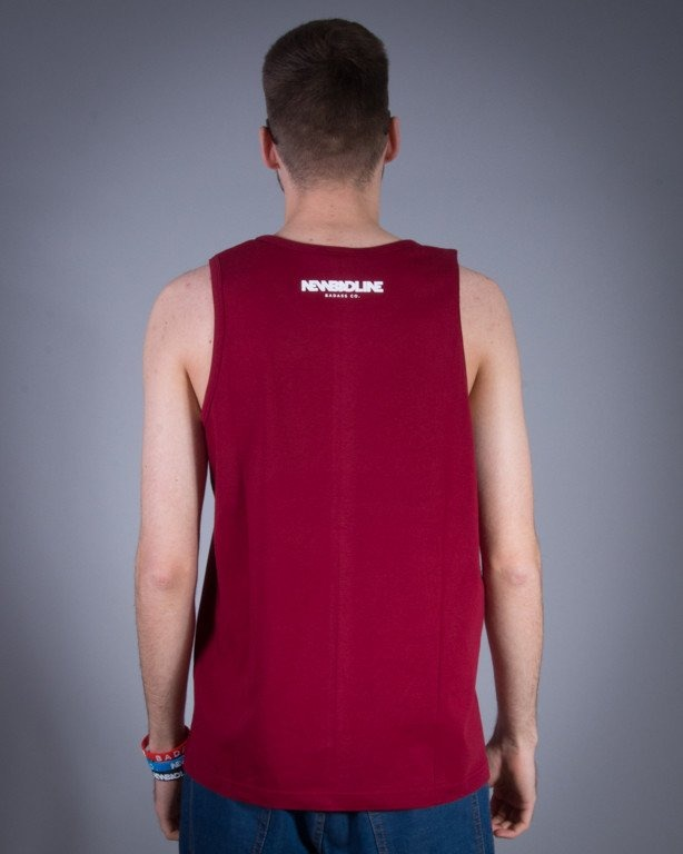 NEW BAD LINE TANK TOP ICON BRICK