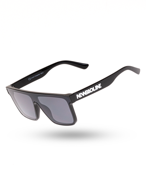 OKULARY ATTACK BLACK FLASH BLACK 00-129