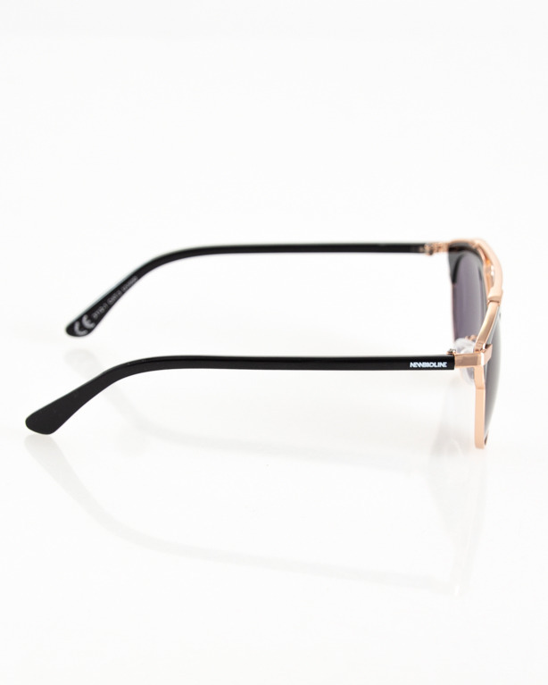 OKULARY BEBE GOLD-BLACK FLASH BLACK 083