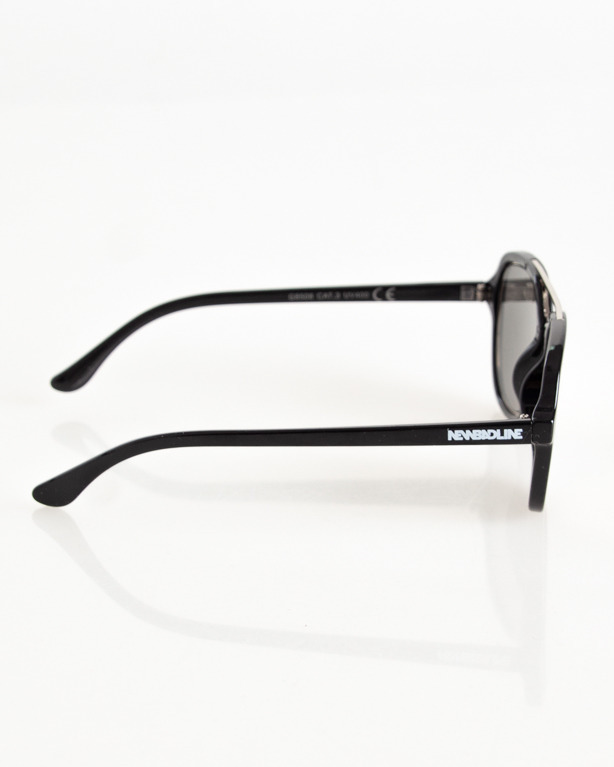 OKULARY CLASS SILVER-BLACK FLASH PINK MIRROR 099