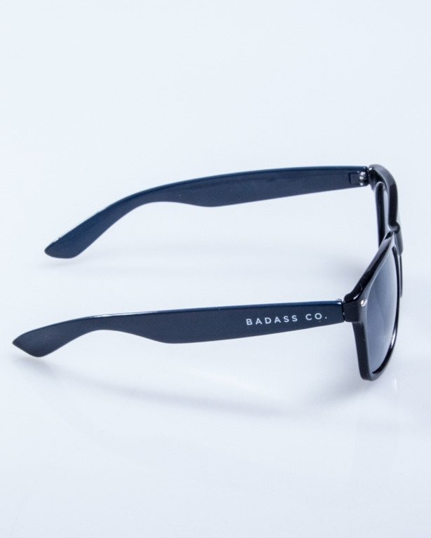 OKULARY CLASSIC HALF BLACK NAVY FLASH BLACK 549