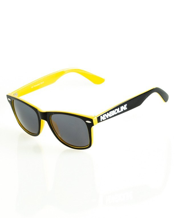 OKULARY CLASSIC INSIDE BLACK-YELLOW FLASH BLACK 165