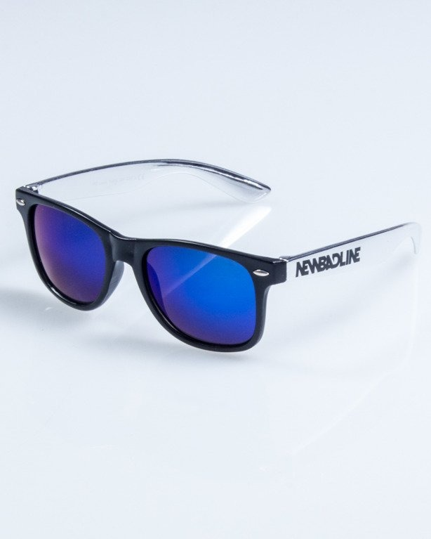 OKULARY CLASSIC INOX BLACK BLUE MIRROR 760