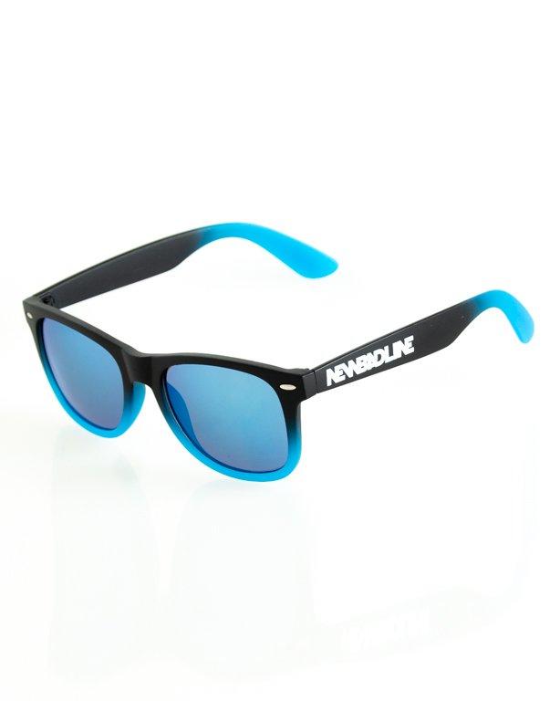 OKULARY CLASSIC TONAL BLACK-BLUE MAT BLUE MIRROR 151