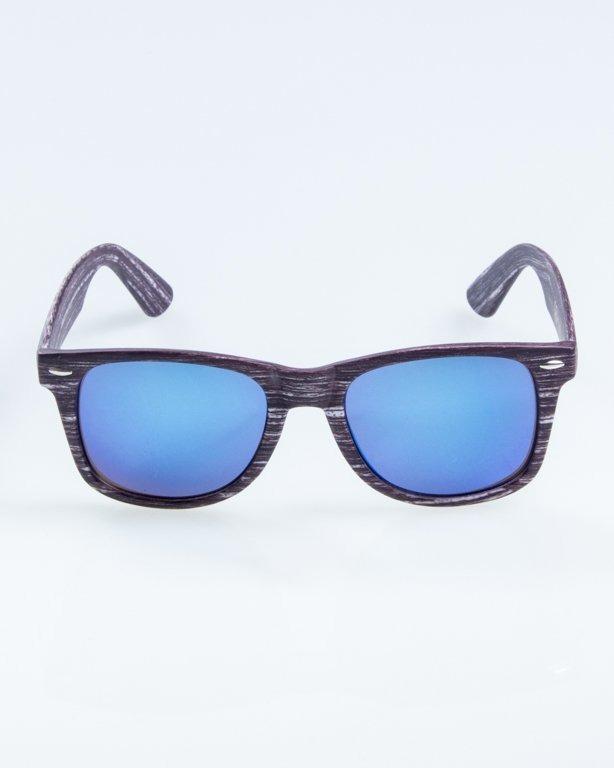 OKULARY CLASSIC WOODY ARK 1 BLUE MIRROR 892