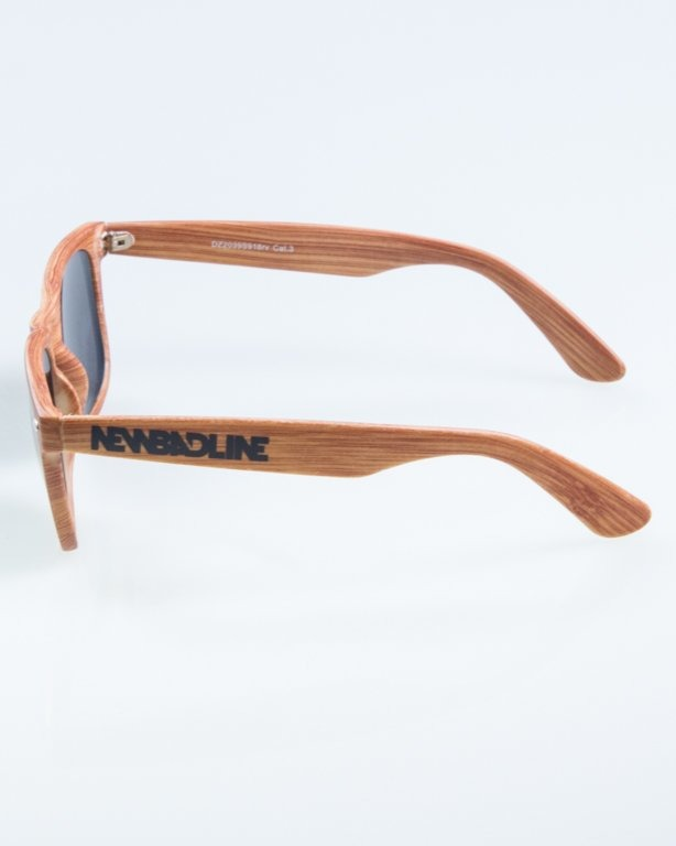 OKULARY CLASSIC WOODY BROWN 1 YELLOW MIRROR 885