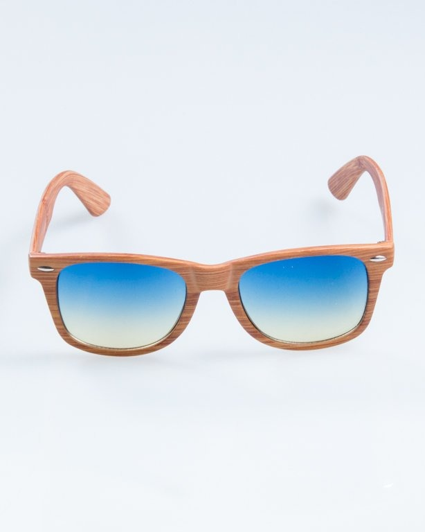 OKULARY CLASSIC WOODY  LIGHT BLUE TONAL 869