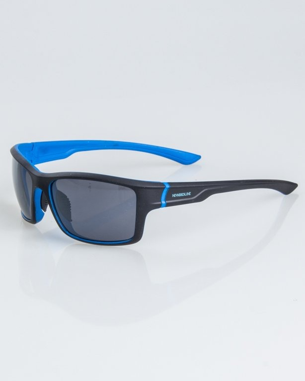 OKULARY EXEMPLAR INSIDE BLACK-BLUE RUBBER BLACK 1239
