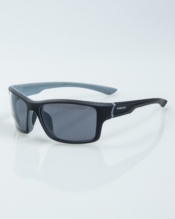 OKULARY EXEMPLAR INSIDE BLACK-GREY RUBBER BLACK 1018