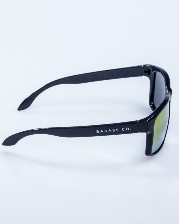 OKULARY FREESTYLE BLACK FLASH RED MIRROR 599