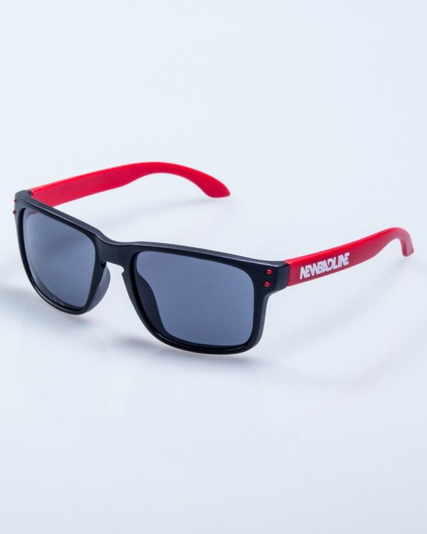 OKULARY FREESTYLE POINT BLACK-RED MAT BLACK 619