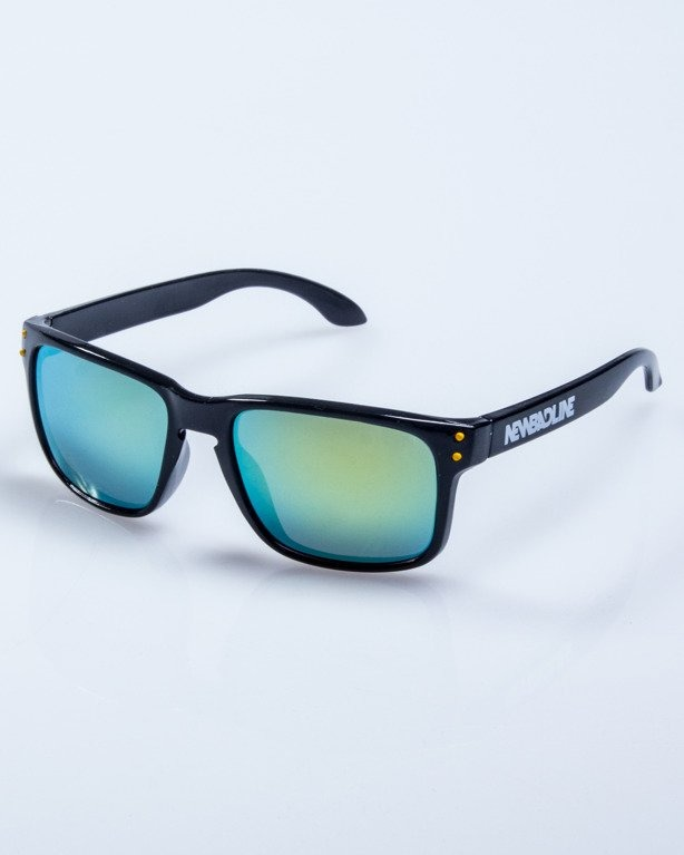 OKULARY FREESTYLE POINT BLACK-YELLOW FLASH YELLOW MIRROR 607