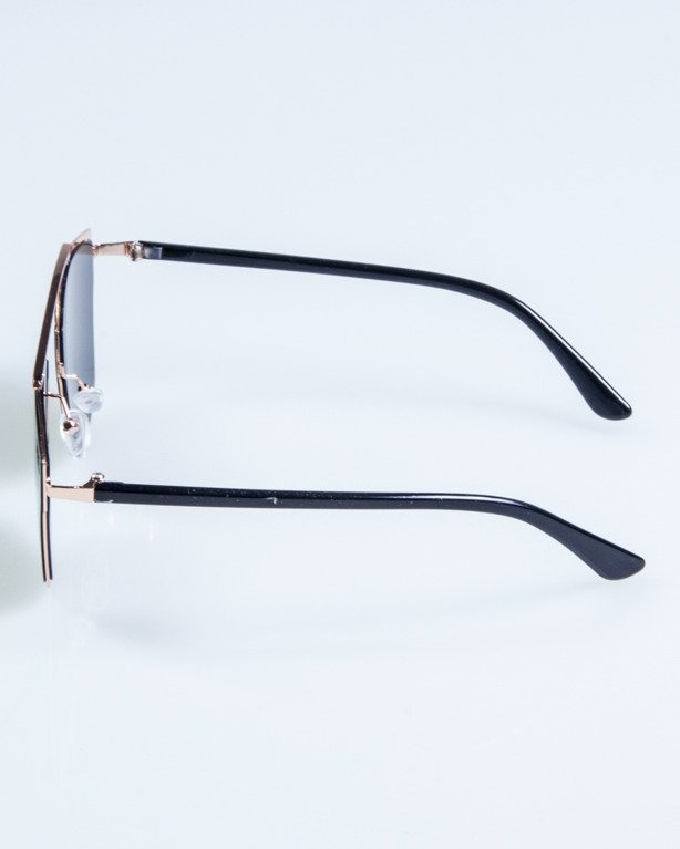 OKULARY LADY FUTURE GOLD RED-MIRROR717