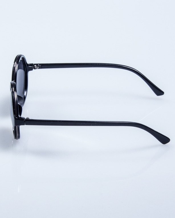 OKULARY LADY HARRY BLACK FLASH BLACK 548
