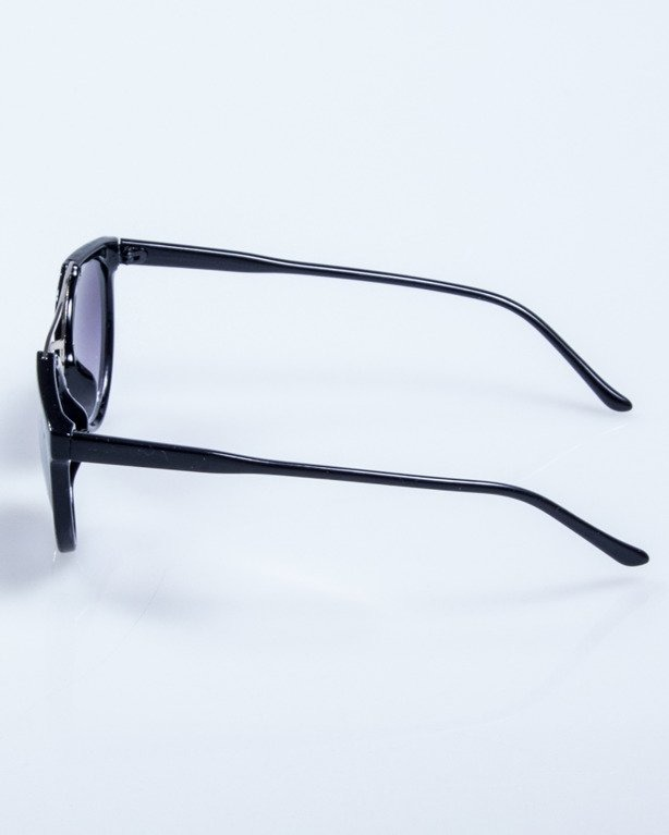 OKULARY LADY OLD SCHOOL BLACK FLASH BLACK 542