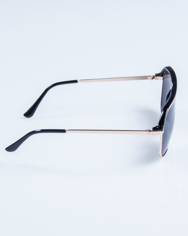 OKULARY LINES BLACK FLASH BLACK 673