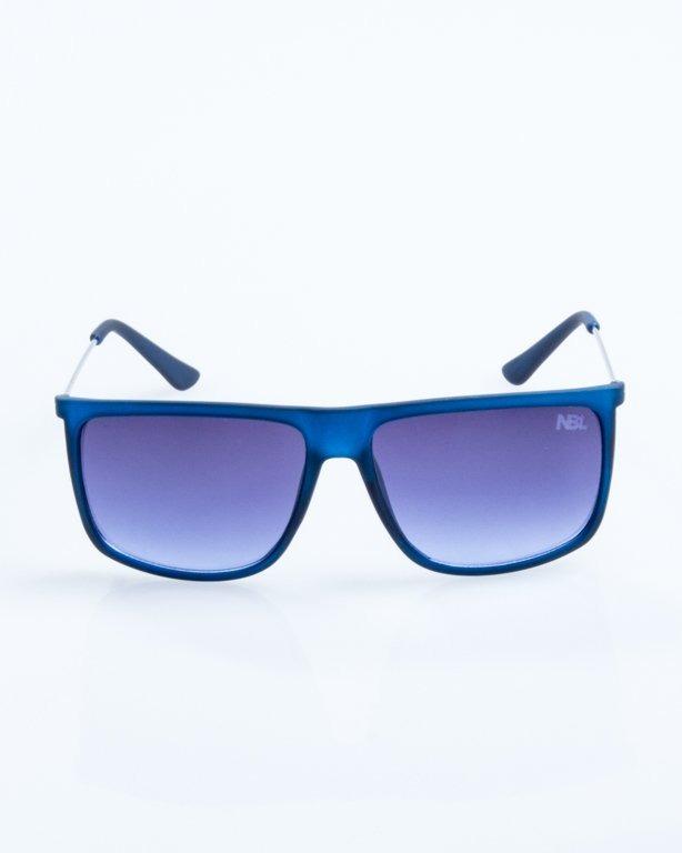 OKULARY NEEDLE BLUE RUBBER NAVY 789