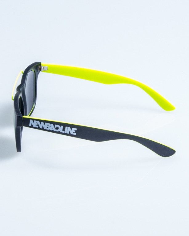OKULARY NEW CLASSIC BLACK-NEON MAT YELLOW MIRROR 657