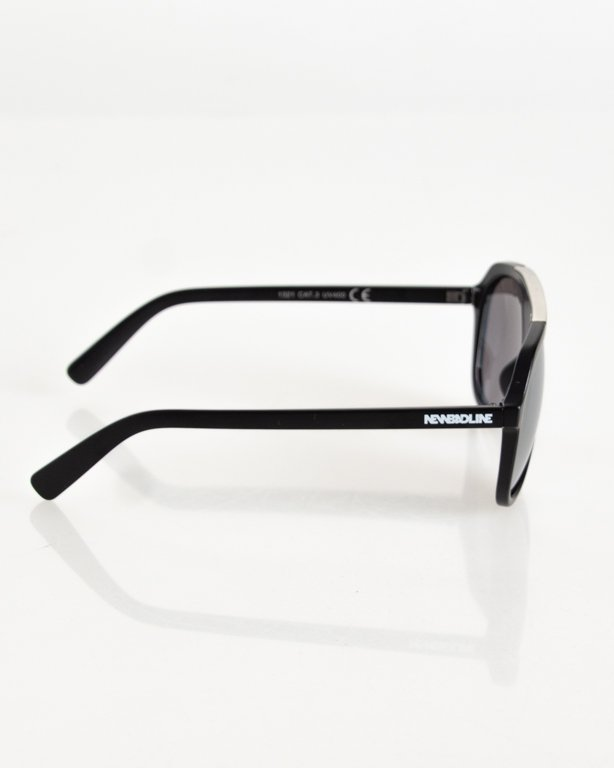 OKULARY POINT SILVER-BLACK MAT SILVER 102